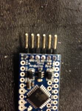 first solder